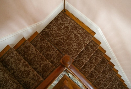 Replacing A Stair Runner — Stonehaven Life   Carpet Runners For Stairs And Landing   Carpet Hampton Style   Hallway   Stair Runner Matching Landing   Fitted   Farmhouse