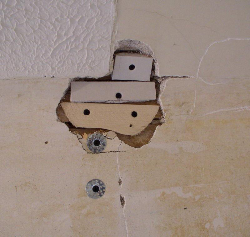 Fixing Plaster Ceiling Hole Www Energywarden Net