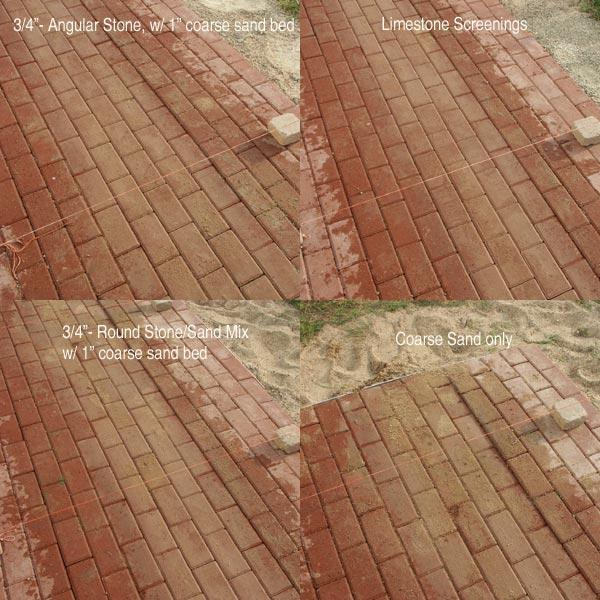 paver patio base preparation