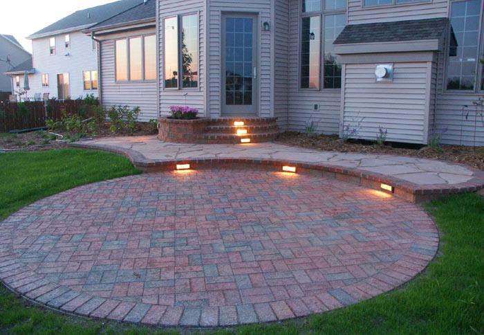 stonehenge brick paving landscaping