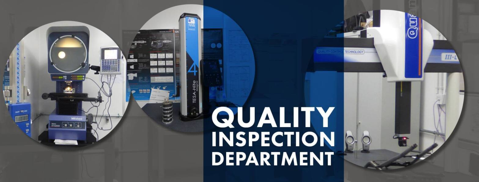 Quality inspection machines for precision engineered parts
