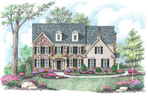 Berkshire Traditional by home builder Michael Creary