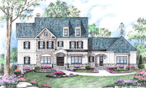 Augusta Farmhouse by builder Michael Creary