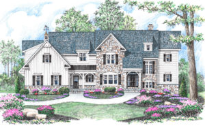 Chelsea French Country by builder Michael Creary