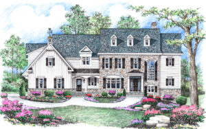 Stone Castle Farmhouse by builder Michael Creary