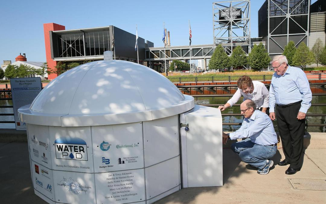Water POD delivers hope for clean drinking water