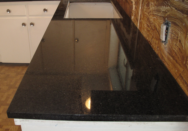 Indian Black Pearl Granite Stone Ideas Stone Floor
