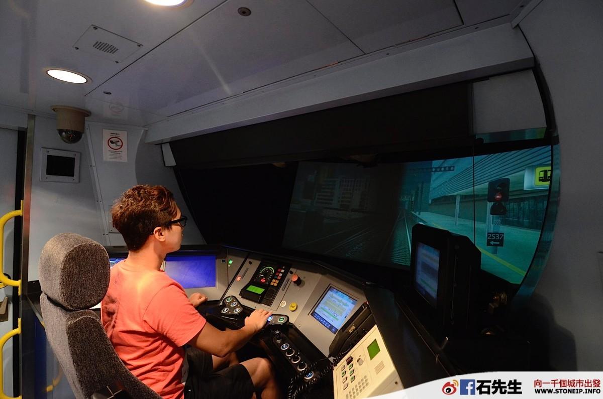 【體驗】我不要埋錯站!香港地鐵的列車模擬駕駛室(大圍訓練中心的 SP1900)   石先生
