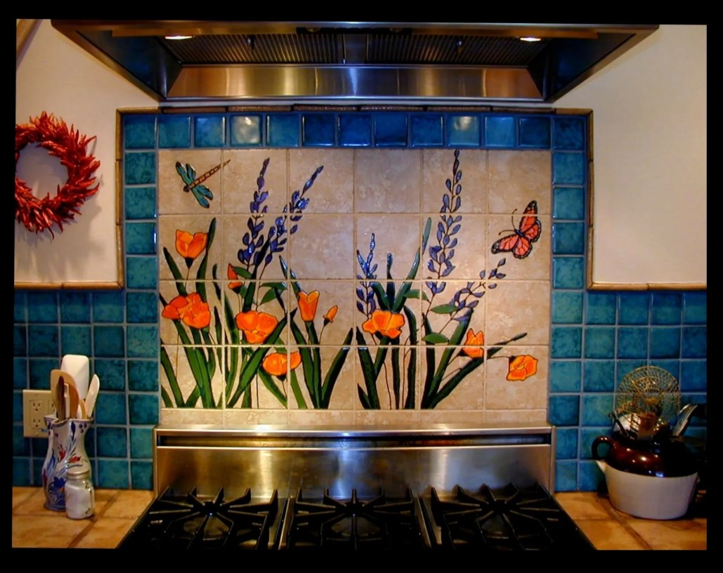 Custom Mural Design Ceramic San Jose Ca Stonelight Tile