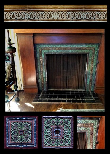 Moorish design for Nancys fireplace 2