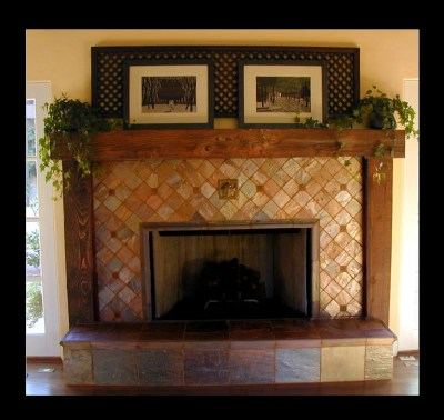 CUSTOM FIREPLACE TILE CREATIONS