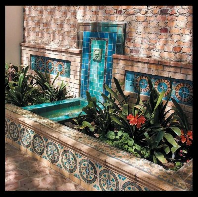 1920's fountain by Stonelight Tile 2