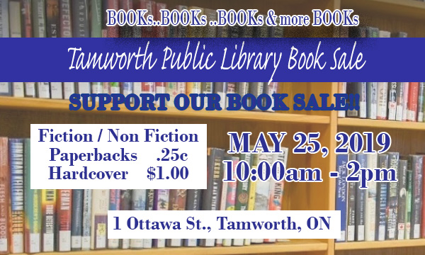Tamworth Book Sale