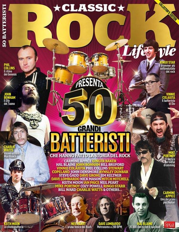 50 batteristi sprea editori