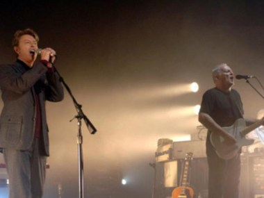 David Gilmour, David Bowie, Comfortably Numb, Londra, live, Classic Rock, Video, Stone Music