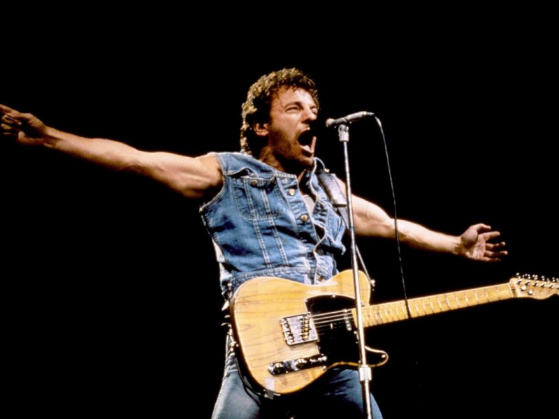 Bruce Springsteen, Live, 1985, Los Angeles, Memorial Coliseum, Classic Rock, Stone Music