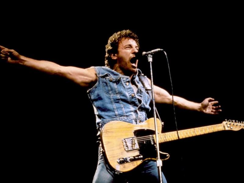 Bruce Springsteen, Live, 1985, Los Angeles, Memorial Coliseum, Classic Rock, Stone Music