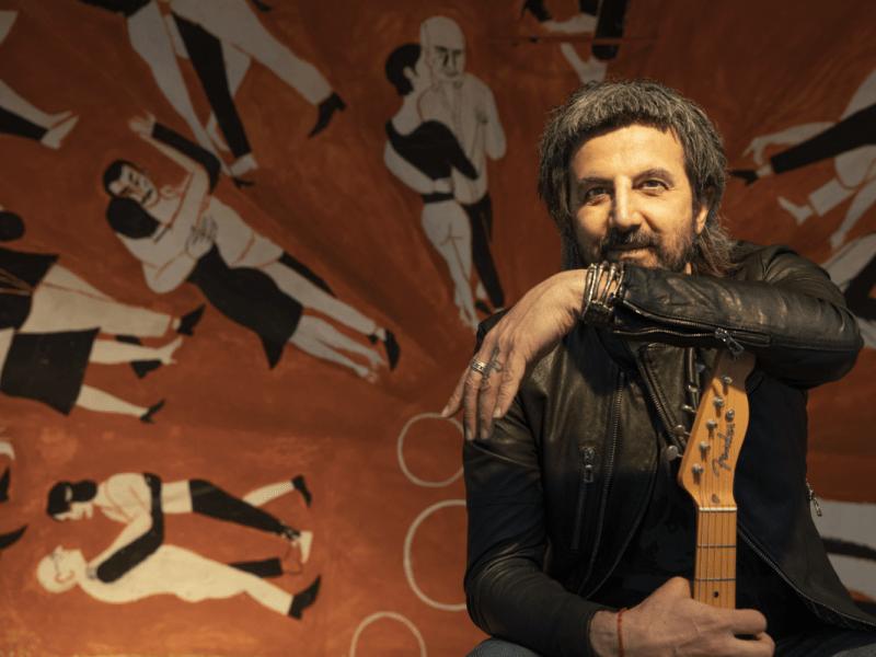 Omar Pedrini   Foto: Michele De Andreis @micheledeandreis