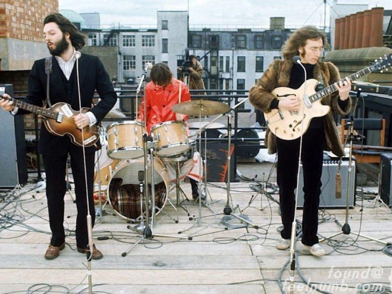 the-beatles-roof-get-back-lennon-mccartney-starr-apple-records-january-30-1969-1024x715