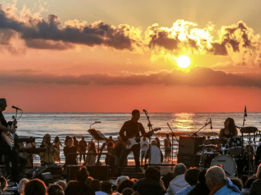 concerto spiaggia