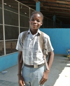 Only 50% of Haitian children ever get to attend school. Make a difference.