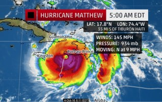 Hurricane Matthew Wreckage
