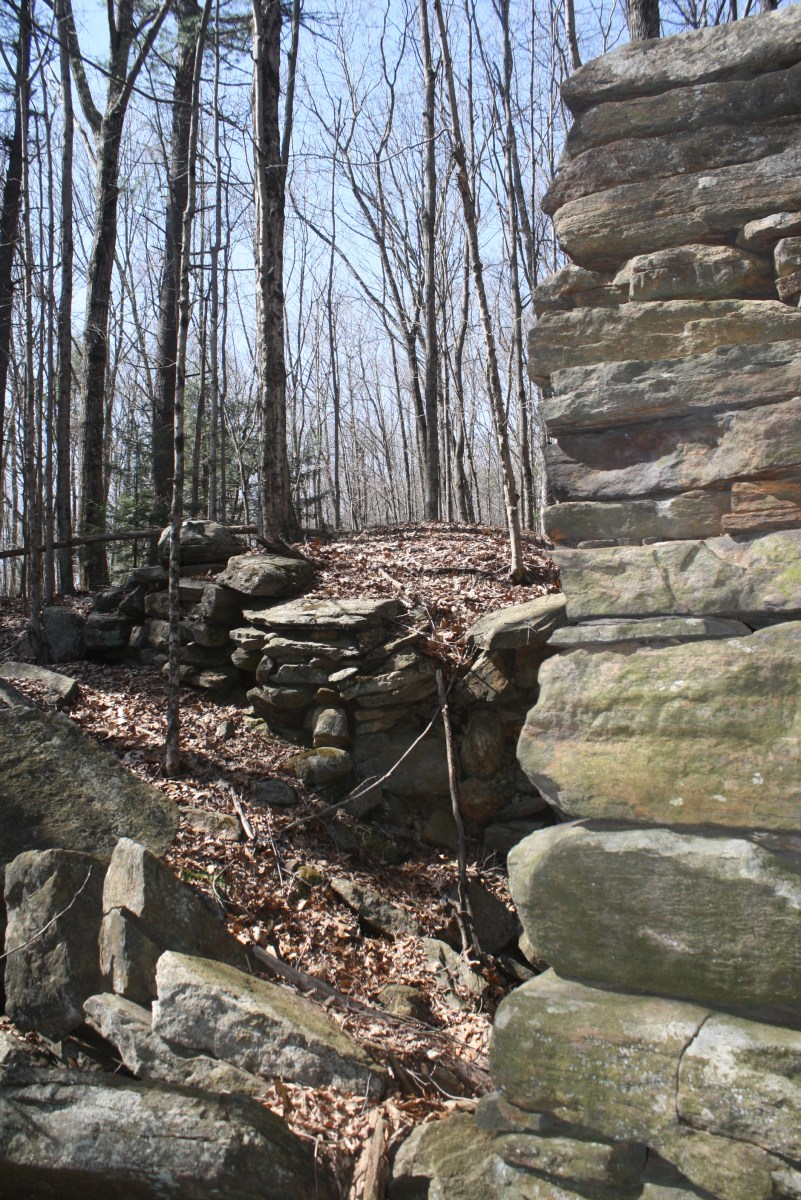 Granite and Fieldstone Foundation