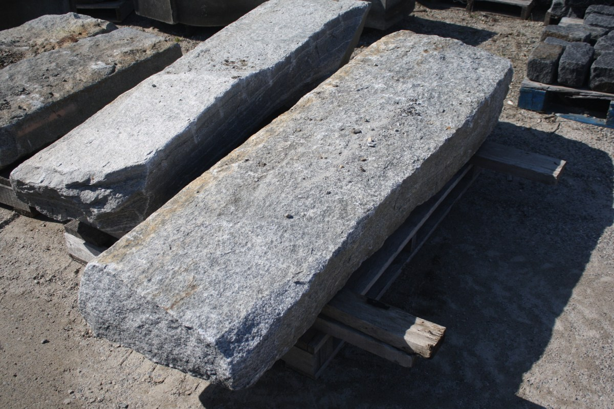 Reclaimed Granite Curbing