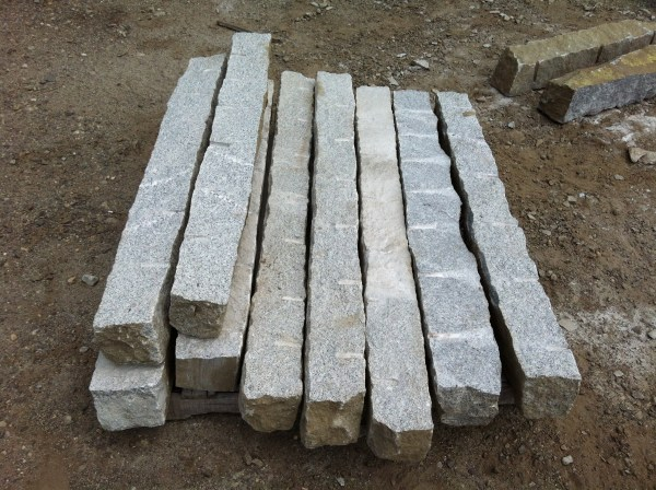reclaimed and salvaged granite