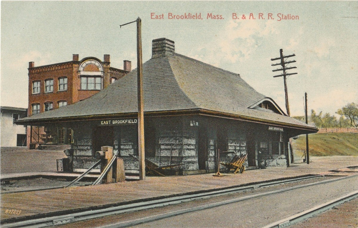 East Brookfield Train Station