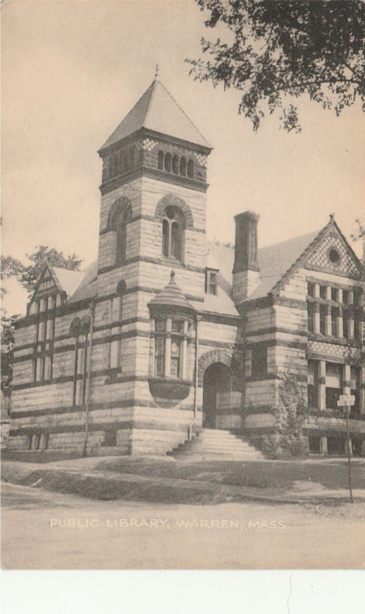 Warren Public Library Post Card