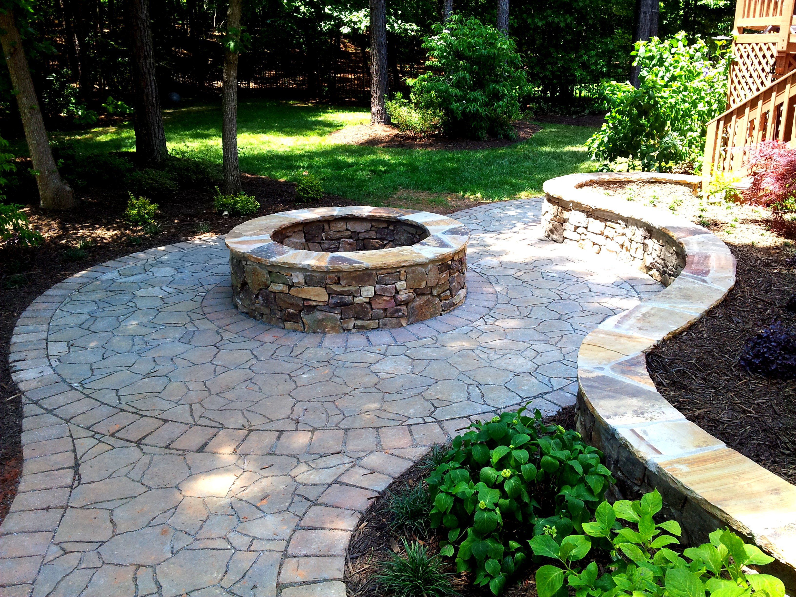 Large Natural Stone Fire Pit | Joy Studio Design Gallery ... on Fire Pit Design  id=97409