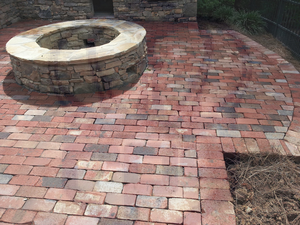 Outdoor Fire Pit | Charlotte Pavers and Stone on Paver Patio Designs With Fire Pit id=58104