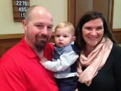 Connor Blenis Baptism 12/13/15