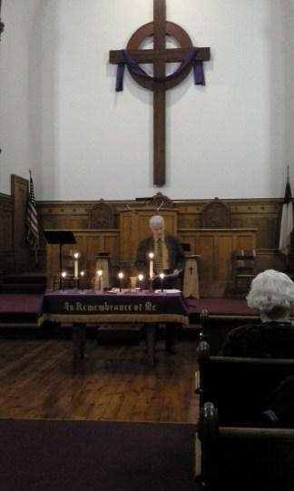 Ash Wednesday Service 02-26-17