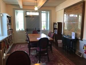 Stone Ridge Library, Reading Room