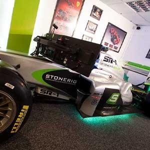 Formula One simulation 30 minutes