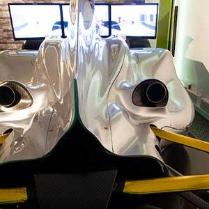 Formula One simulation 45 minutes