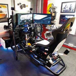 Touring Car Race Seat simulation 15 minutes.