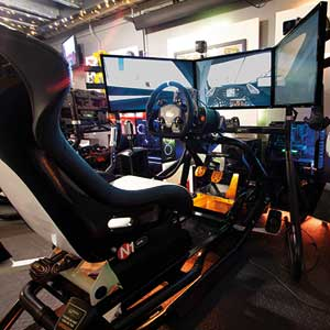 Touring Car Race Seat simulation 30 minutes