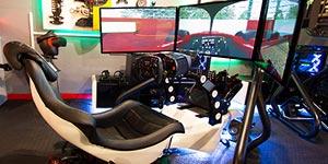 Formula One Race Seat simulation 15 minutes