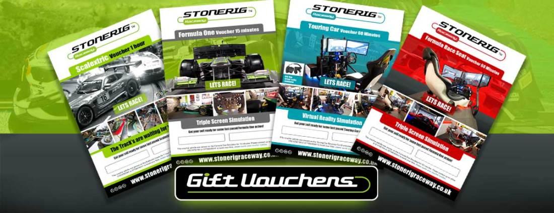 Stonerig Raceway Gift Vouchers