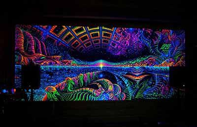 glow in the dark tapestry