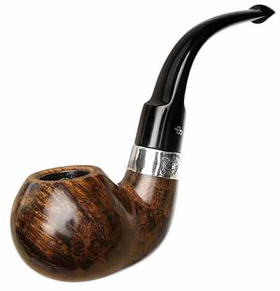 wooden peterson sherlock pipe