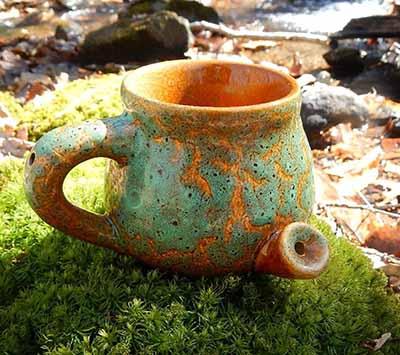 ceramic mug pipe