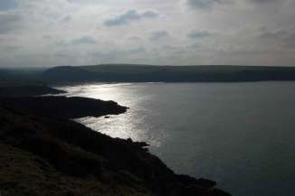 Views of the local area, Aber Mawr near Stones Cottages.