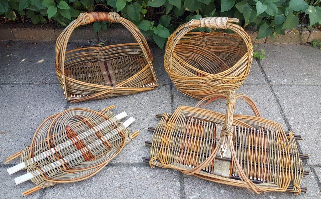 Zarzo willow basket
