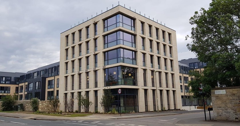Oxford Unite Student Accomodation, St James Wolfe Road