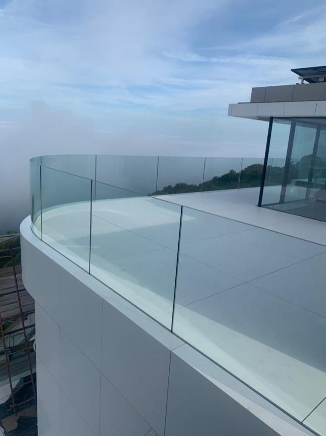 STONESCREEN Aerolite© cladding, balcony