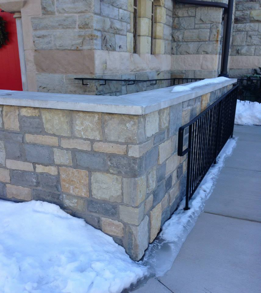 Stone Veneer Fireplaces, Walls, Stone Hearths - The Stone Shop